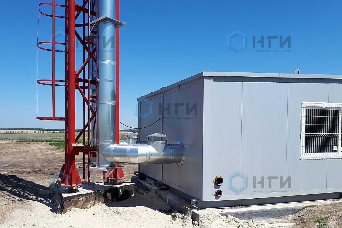 Вентилятор ВКРС №5 ДУ 1,1 кВт/1500 об/мин (Z=6, 400гр)